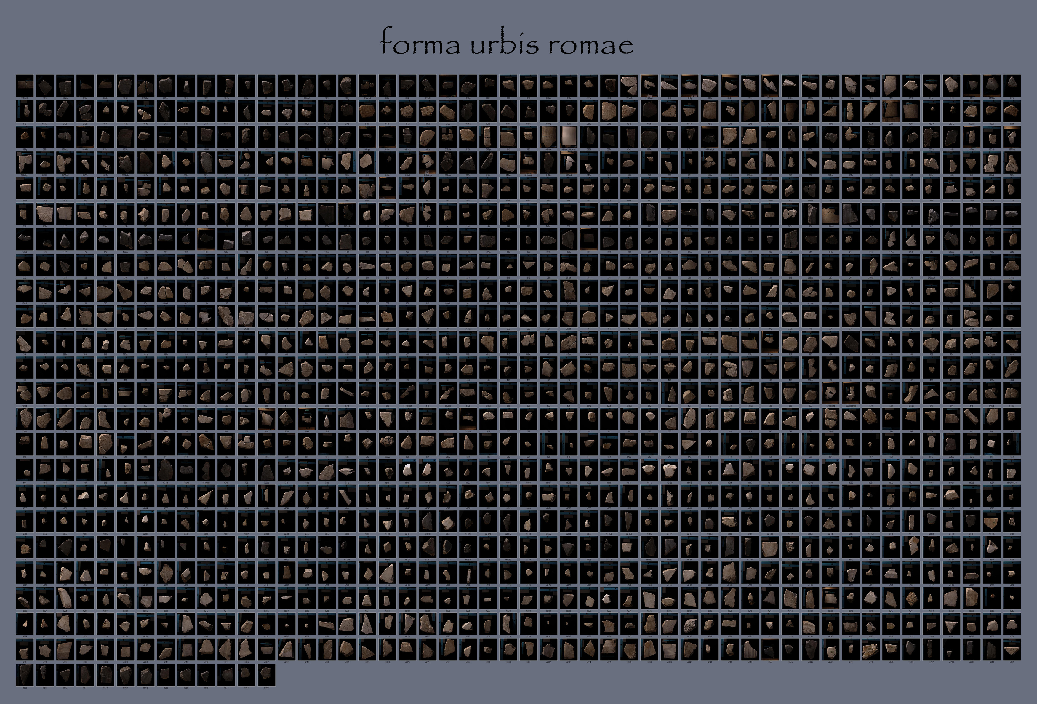 Stanford Digital Forma Urbis Romae Project The Stanford